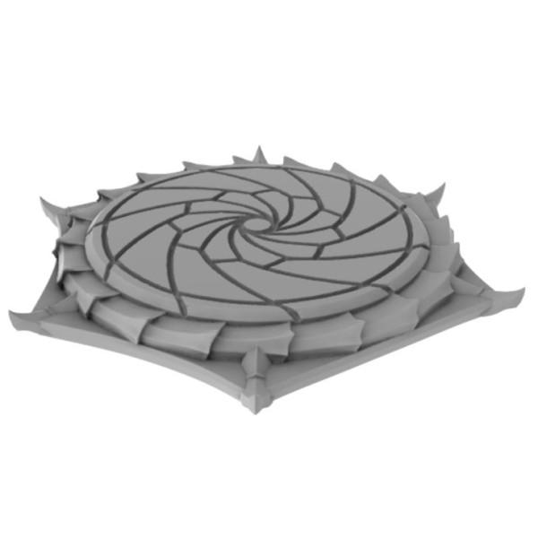 3D Printed - Archvillain Games - Encephalid 3