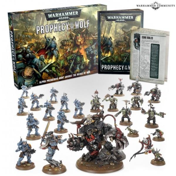 Warhammer 40K - Prophecy of the Wolf - Battlebox