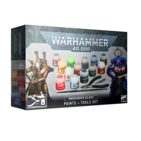 Citadel - Warhammer 40k - Paints and Tools Set