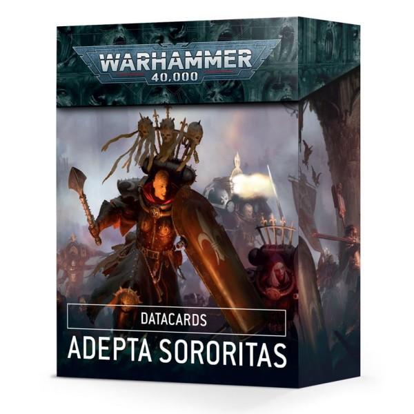 Warhammer 40k - Datacards: Adepta Sororitas (2021)