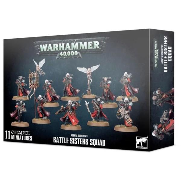 Warhammer 40K - Adepta Sororitas - Battle Sisters Squad