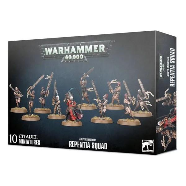 Warhammer 40K - Adepta Sororitas - Repentia Squad