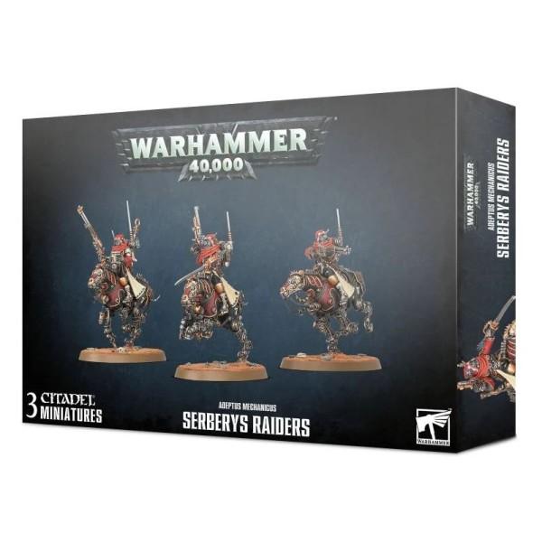 Warhammer 40K - Adeptus Mechanicus - Serberys Raiders