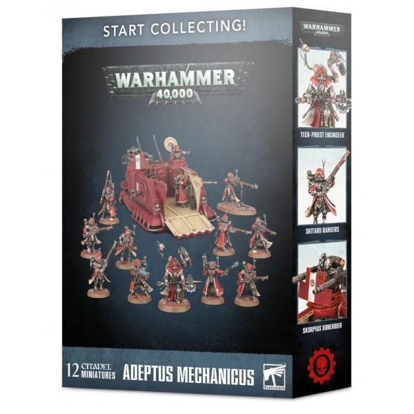 Warhammer 40K - Adeptus Mechanicus - Start Collecting - ADEPTUS MECHANICUS