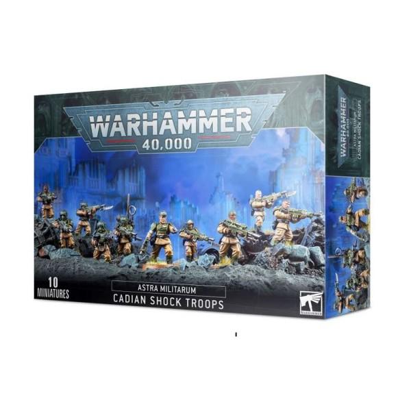 Warhammer 40K - Astra Militarum - Cadian Shock Troops (2021)