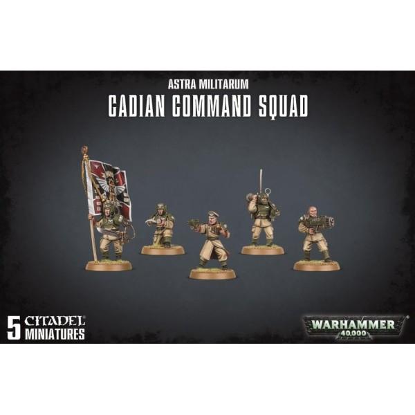 Warhammer 40K - Astra Militarum - Cadian Command Squad