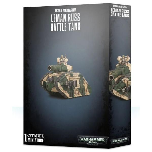 Warhammer 40k - Astra Militarum - Leman Russ Battle Tank