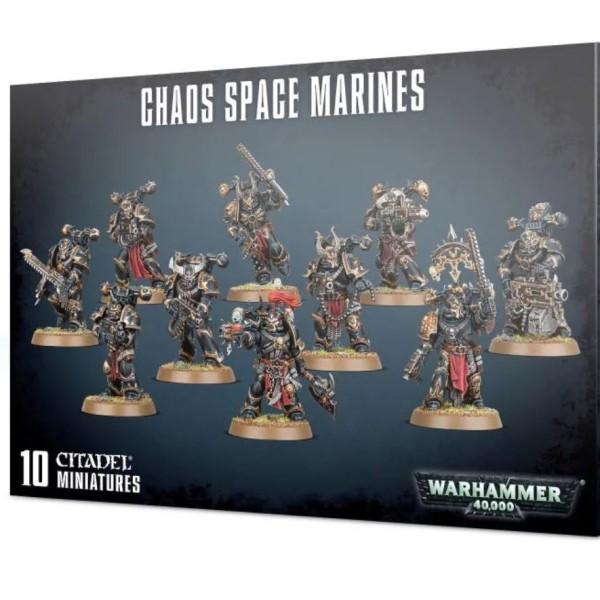 Warhammer 40k - Chaos Marines - Chaos Space Marines