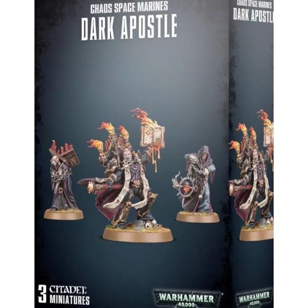Warhammer 40k - Chaos Marines - Dark Apostle