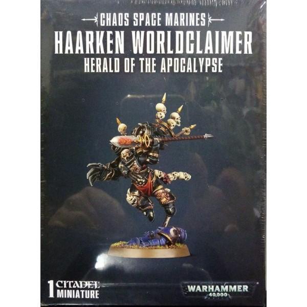 Warhammer 40k - Chaos Marines - Haarken Worldclaimer - Herald of the Apocalypse