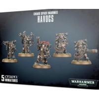 Warhammer 40k - Chaos Marines - Chaos Space Marines Havocs