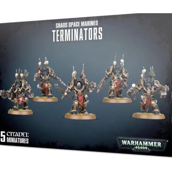 Warhammer 40k - Chaos Marines - Chaos Space Marines Terminators