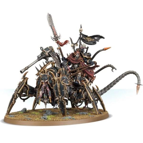 Warhammer 40k - Chaos Marines - Vex Machinator, Arch-Lord Discordant