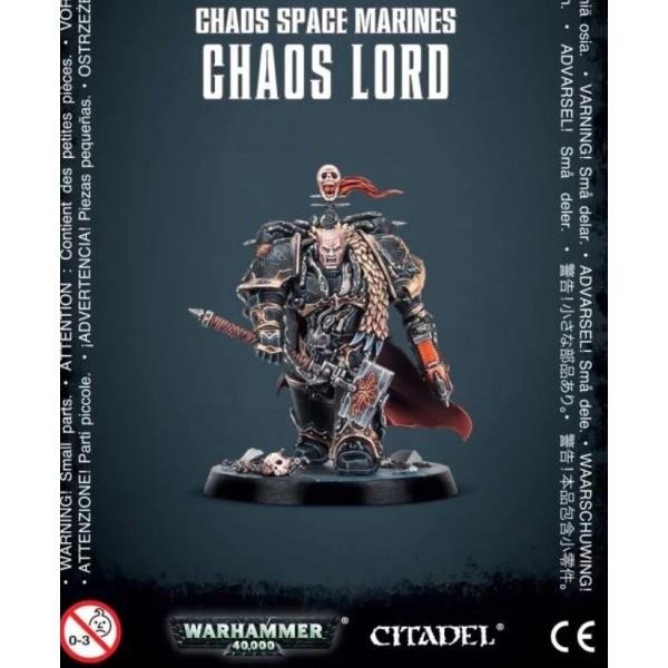 Warhammer 40k - Chaos Marines - Chaos Lord