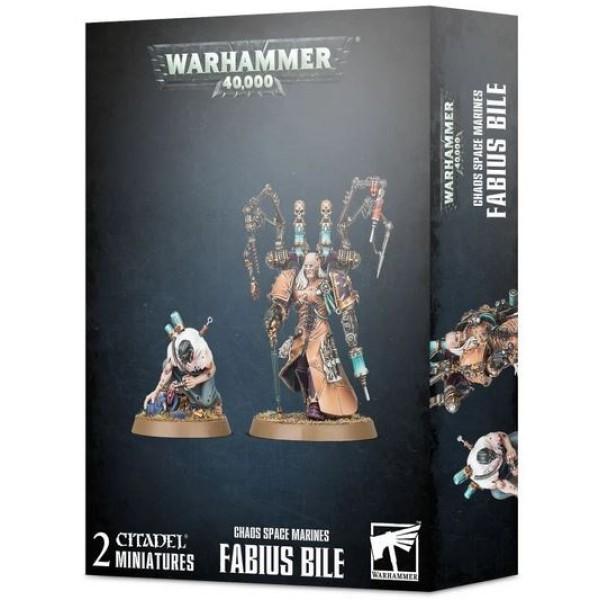 Warhammer 40k - Chaos Marines - Fabius Bile
