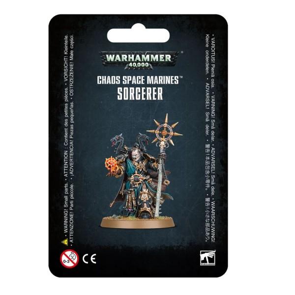 Warhammer 40k - Chaos Marines - SORCERER