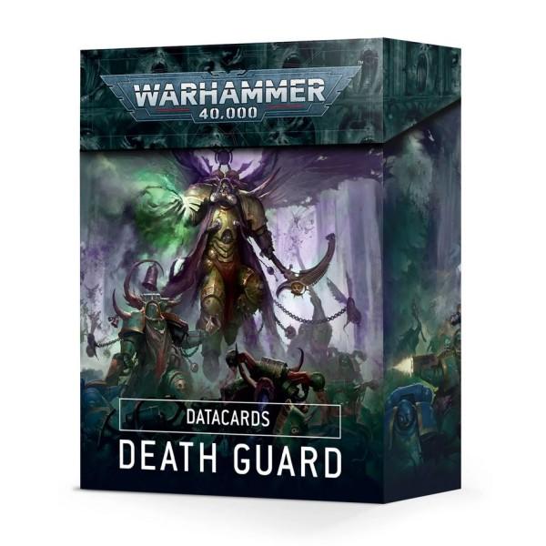 Warhammer 40k - Datacards: Death Guard (2021)