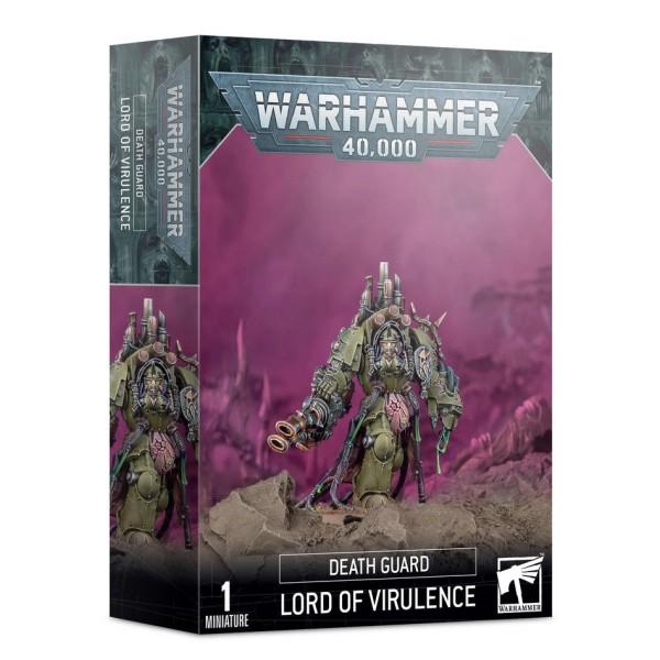 Warhammer 40K - Death Guard - Lord of Virulence