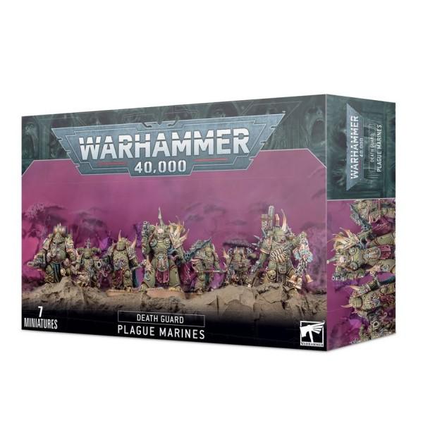 Warhammer 40K - Death Guard - Plague Marines