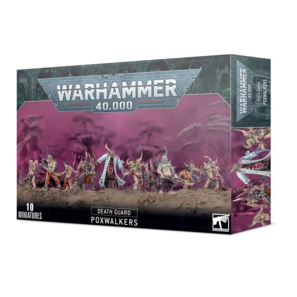 Warhammer 40K - Death Guard - Poxwalkers (2021)