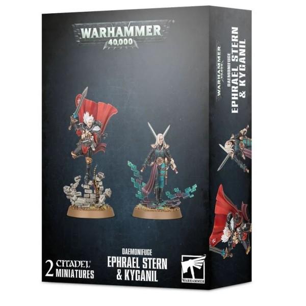 Warhammer 40K - Daemonifuge – Ephrael Stern and Kyganil