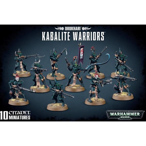 Warhammer 40K - Drukhari - Kabalite Warriors