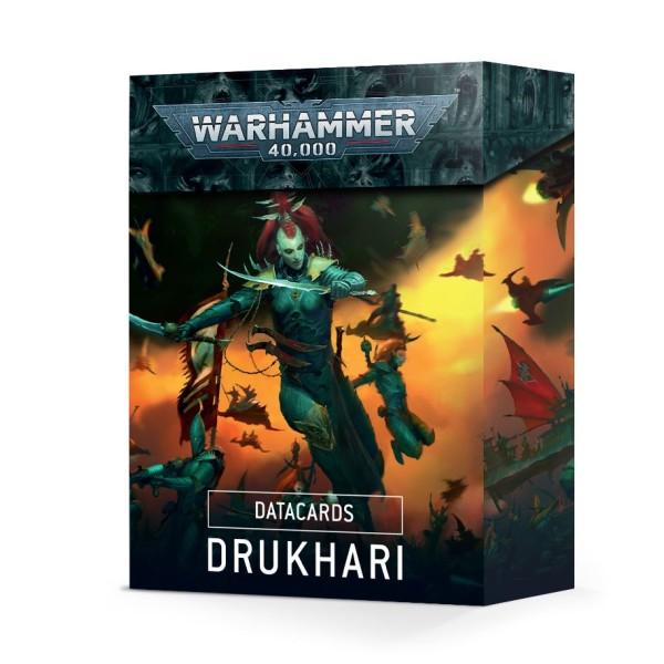 Warhammer 40k - Datacards: Drukhari (2021)