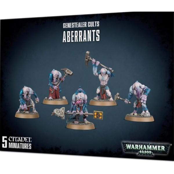 Warhammer 40K - Genestealer Cults - Aberrants