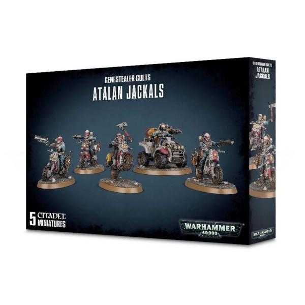 Warhammer 40K - Genestealer Cults - Atalan Jackals