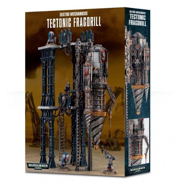 Warhammer 40K - Genestealer Cults - Tectonic Fragdrill