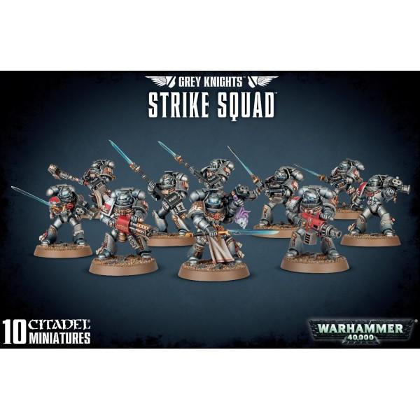 Warhammer 40k - Grey Knights: Grey Knights Stike Squad