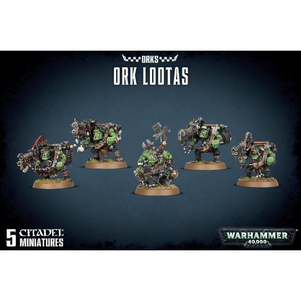 Warhammer 40k - Orks - Lootas and Burnas