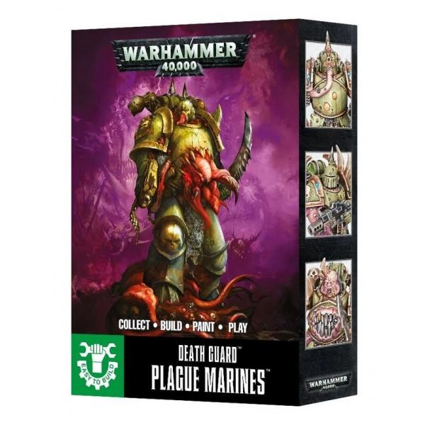 Warhammer 40K - Death Guard - Plague Marines (Easy to Build)