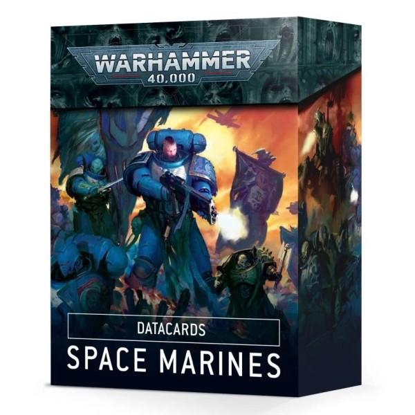 Warhammer 40k - Datacards: Space Marines (2020)