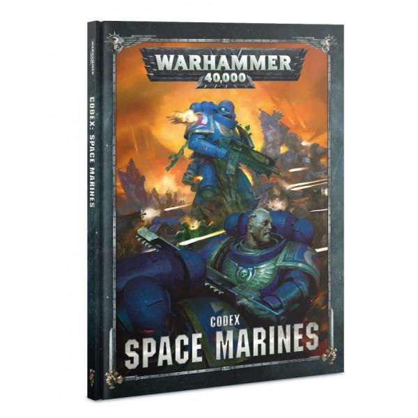 Warhammer 40K - Codex - Space Marines 2019