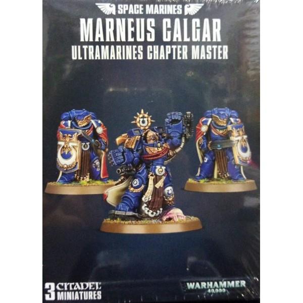 Warhammer 40k - Space Marine - Marneus Calgar Ultramarines Chapter Master