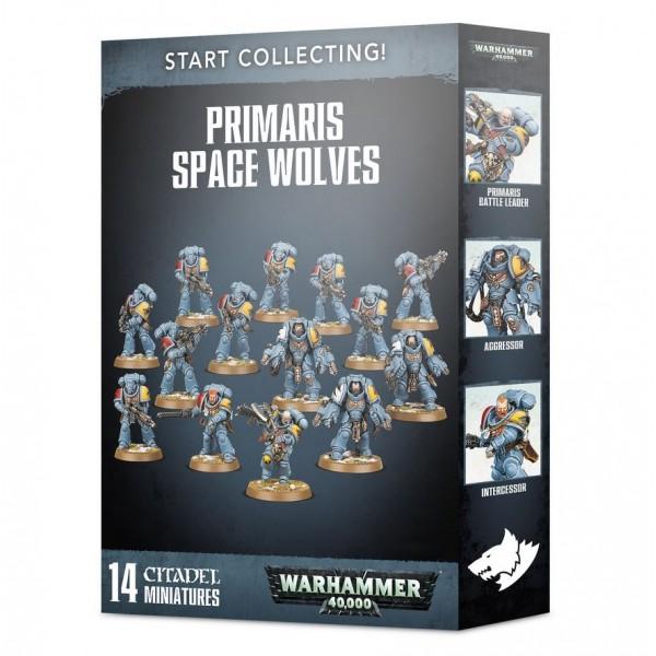 Warhammer 40K - Space Wolves Primaris - Start Collecting