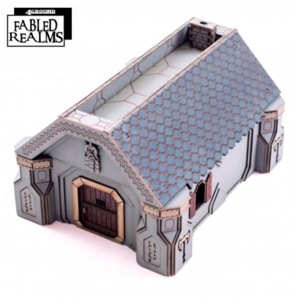 4Ground Pre-Painted Terrain - Fabled realms - Karag-Haim Offadreoz Dwelling 2