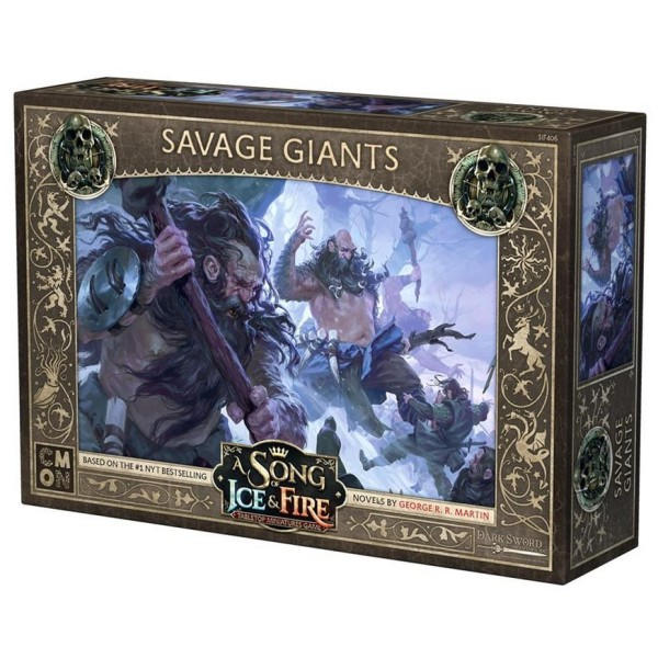 A Song of Ice and Fire - Tabletop Miniatures Game - Savage Giants