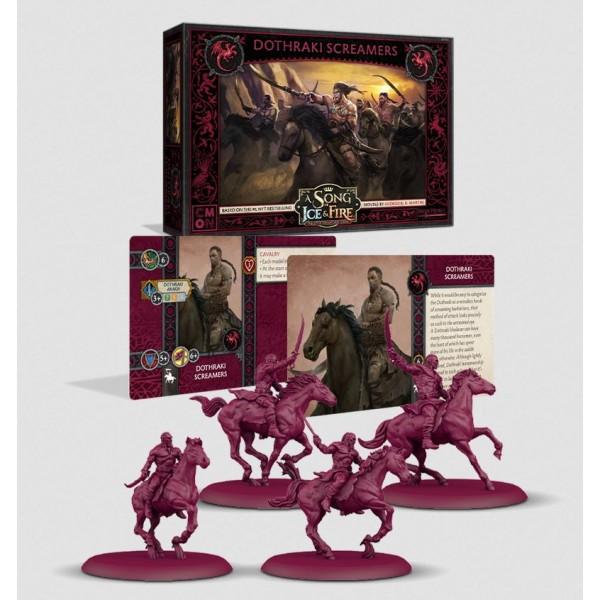 A Song of Ice and Fire - Tabletop Miniatures Game - Targaryen - Dothraki Screamers