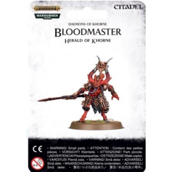 Daemons of Chaos - Bloodmaster, Herald of Khorne