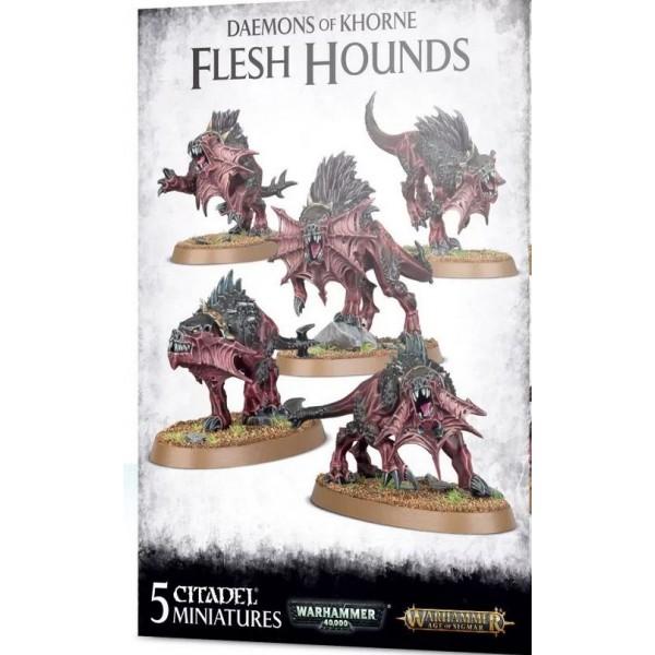Daemons of Chaos - Flesh Hounds of Khorne