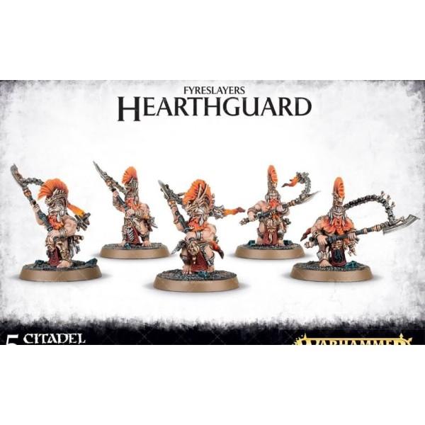 Age Of Sigmar - Fyreslayers - Auric Hearthguard