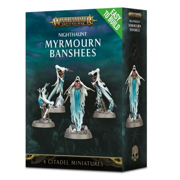 Age of Sigmar - Nighthaunt - Myrmourn Banshees (Easy To Build)