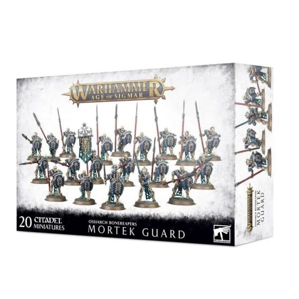 Age Of Sigmar - Ossiarch Bonereapers  - Mortek Guard