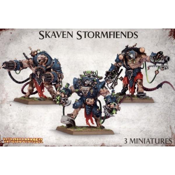 Age of Sigmar - Skaven - Stormfiends