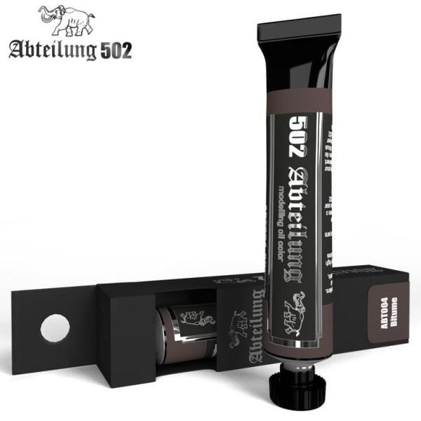 MIG Abteilung 502 Oil Paint: Bitume