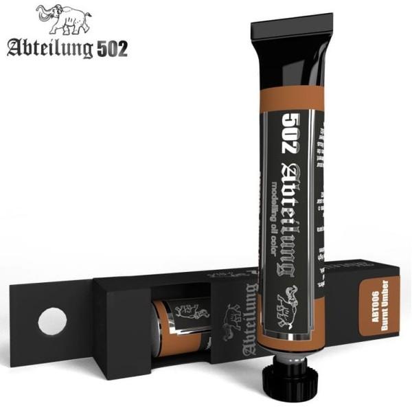 MIG Abteilung 502 Oil Paint: Burnt Umber