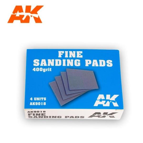 AK Interactive - FINE SANDING PADS 400 GRIT (4)