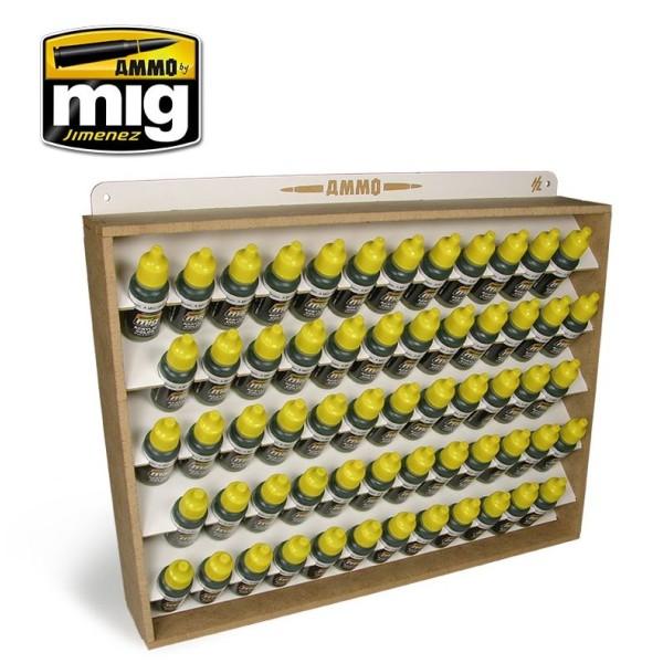 Mig Ammo - PAINT STORAGE SYSTEM - 17 mL